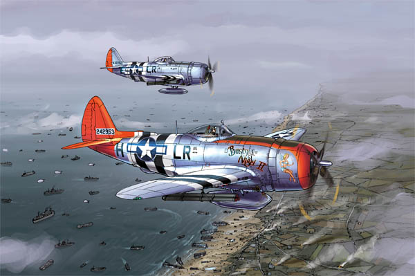 d-day planes